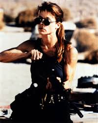 Linda Hamilton as Sarah Connor: One ...