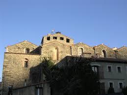 Le centre du village fortifié